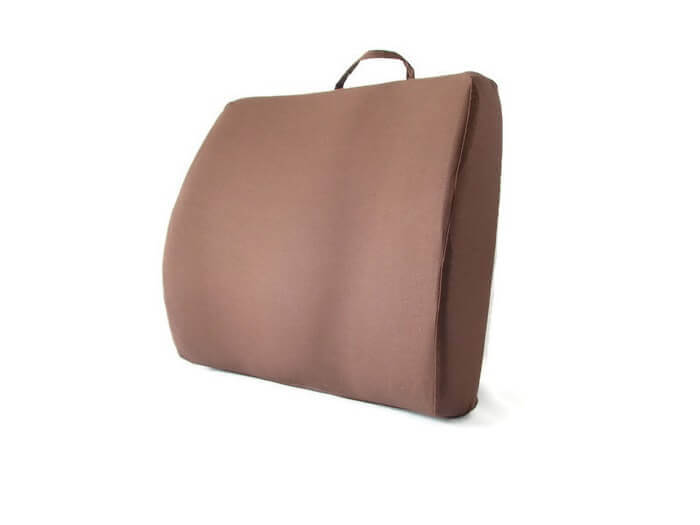 Back-Eeze™ Extra Back Support Cushion Brown