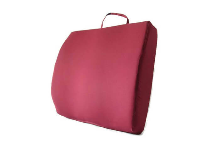 Back-Eeze™ Extra Back Support Cushion Burgundy