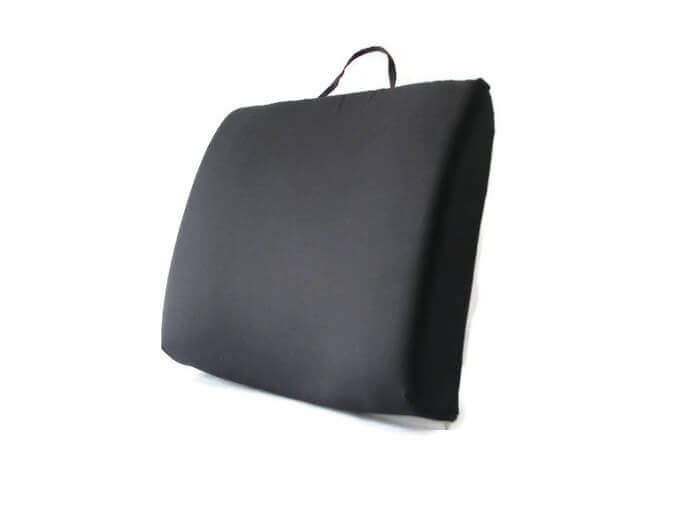 Back-Eeze™ Slim – Back Support Cushion Black