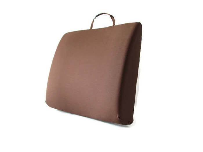 Back-Eeze™ Slim – Back Support Cushion Brown