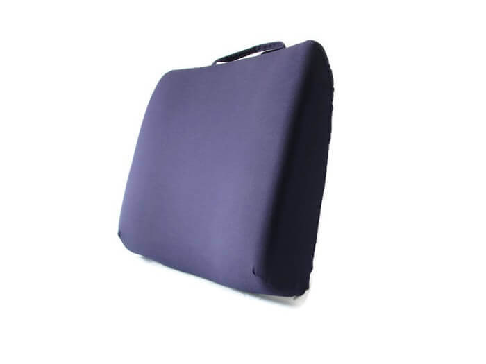 Back-Eeze™ Slim – Back Support Cushion Navy